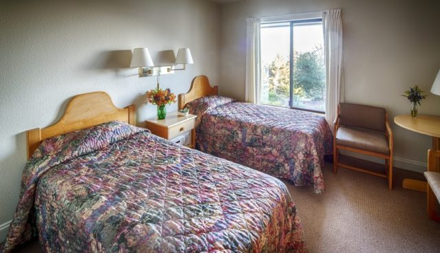 Guest Rooms: Single, Double, or Dorm